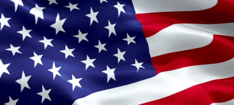 US flag 2 star